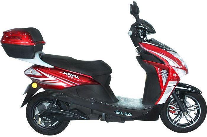 Kral Elektrikli Motosiklet KR23 LİMA 5000